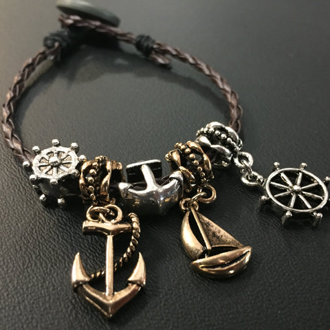 The Anchored Pier Bracelet