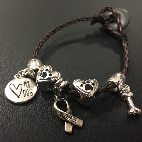 The Love My Dogs Bracelet
