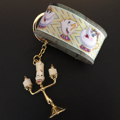 The Servants Bracelet & Keychain Set