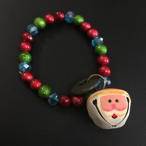 ************************************************************************************************************************************************The Jingle Santa Bracelet