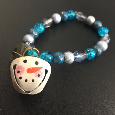 ************************************************************************************************************************************************The Jingle Snowman Bracelet