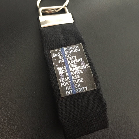 **************************************************************************************************************************************************The 2017 Thin Blue Line Keychain