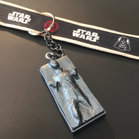 The Carbonite Keychain & Bracelet