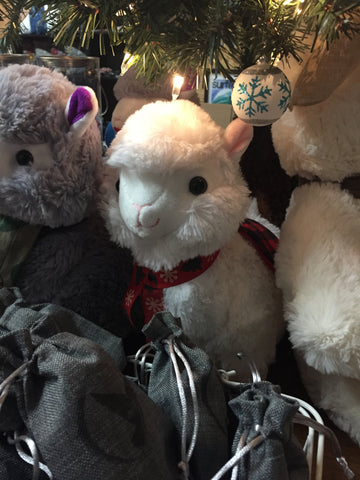 Clarissa The Christmas Alpaca