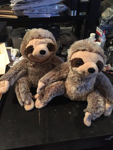 The Valentine's Day Sloth Dolls
