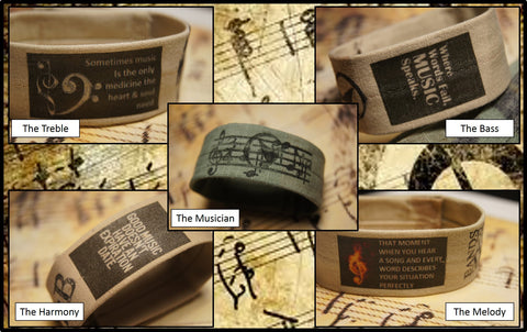 The Music Inspired Bracelets