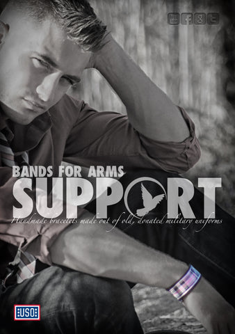 Bands For Arms Support Poster