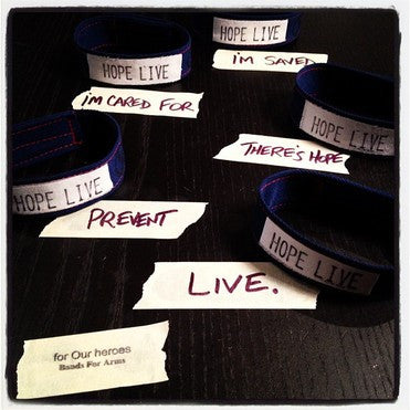 The 2012 Suicide Awareness Bracelet