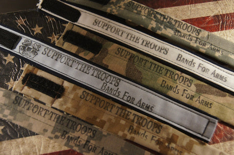 The Support Our Troops Bracelets