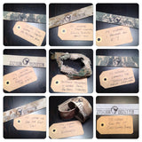 ****************************The Geo Coordinates Bracelets, A Customizable Bracelet