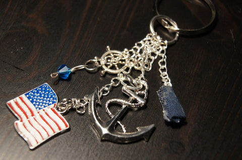 The Navy Keychain