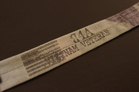 The Vietnam Memorial Veteran Bracelet