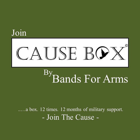 The Bands For Arms Cause Box Subscription