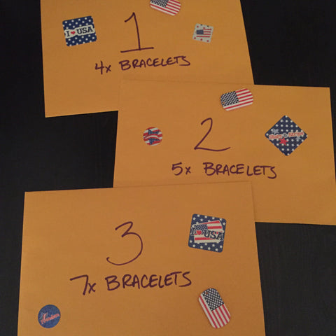 The Veteran's Day Random Bracelet Packages