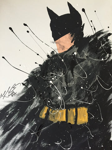 ****The Batman Painting, A Bands For Arms Artwork Piece