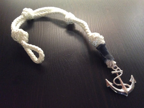 The Navy Chief's Anchor Bracelet