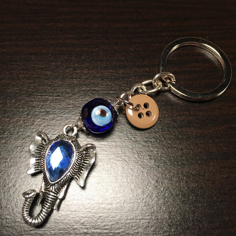 The Evil Eye Keychain