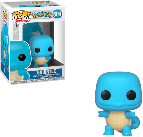 The Diamondnized Squirtle Funko Pop, A Bands For Arms Artwork Piece