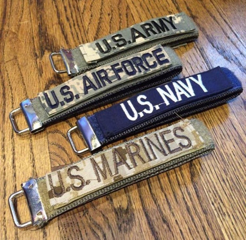 *The Military Velcro Keychains