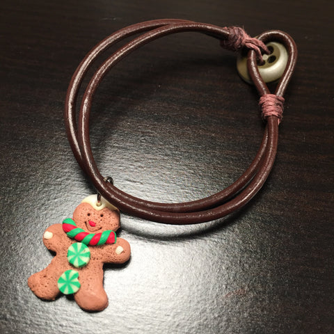 The Gingerbread Cookie Bracelet