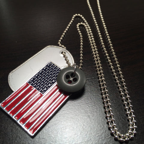 *****************The American Veteran Necklace