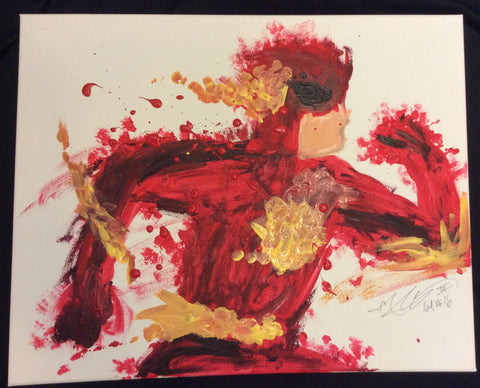 **********************The Flash Painting, A Bands For Arms Artwork Piece