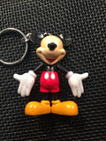 The Mickey & Friends Bracelet and Keychain Set