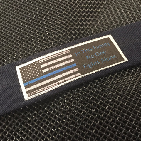 The Thin Blue Line Bracelet