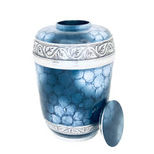 Load image into Gallery viewer, Blue Fire Adult Urn