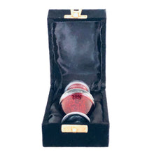 Load image into Gallery viewer, Red Engraved Cremation Keepsake Urn