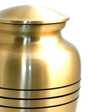 Load image into Gallery viewer, Brass Cremation Urn
