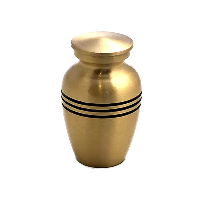 Brass Cremation Keepsake Urn