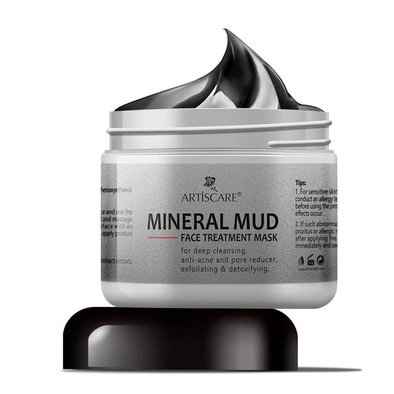 Mineral Mud Face Mask Deep Cleaning Moisturizing Facial Mask