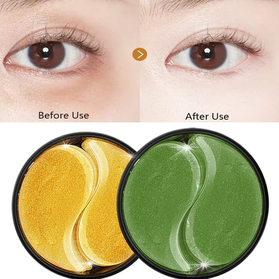 60pcs Crystal Collagen Patch Gels for Eyes Care ~Moisturizing ~Dark Circles~Plant Essence