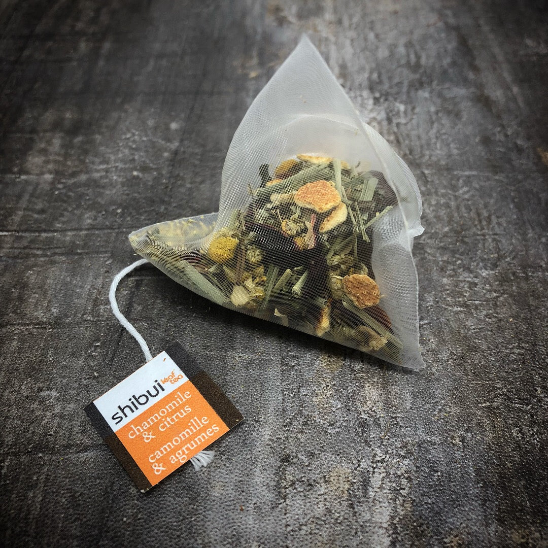 Chamomile and Citrus Tea bag