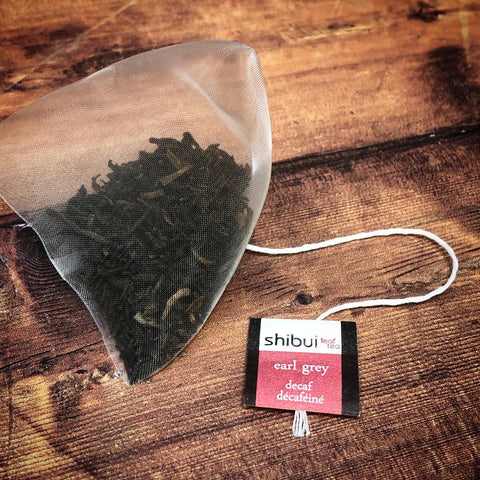Earl Grey Decaf Tea bags Plastic Free