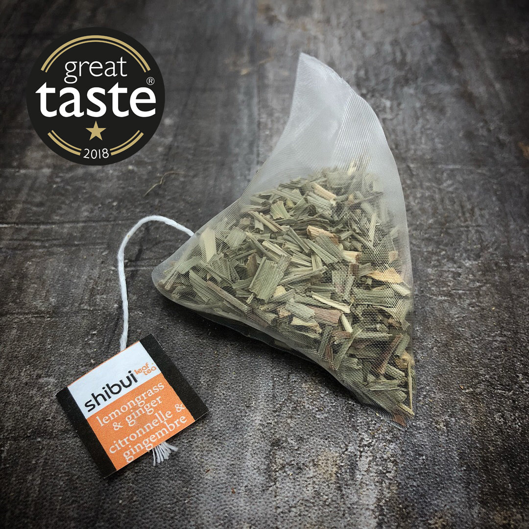 Plastic Free Lemongrass & Ginger Tea bags