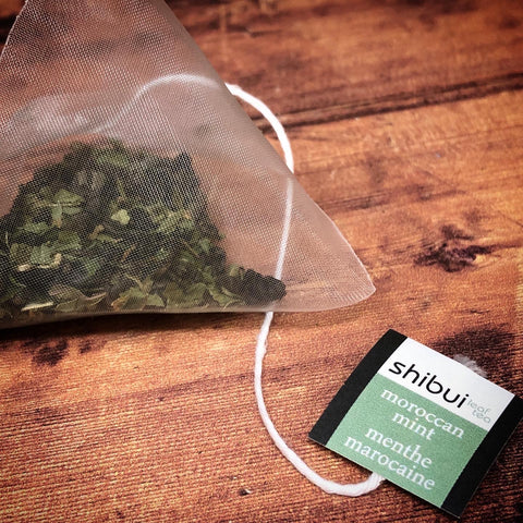Plastic Free Tea bags Moroccan Mint Green Tea