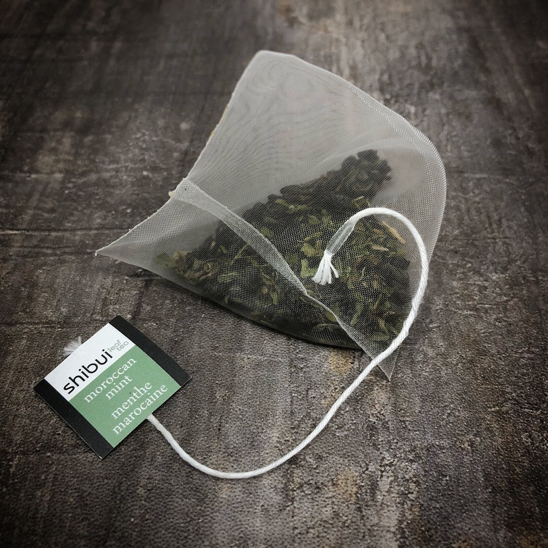 Plastic Free Moroccan Mint Tea Bag