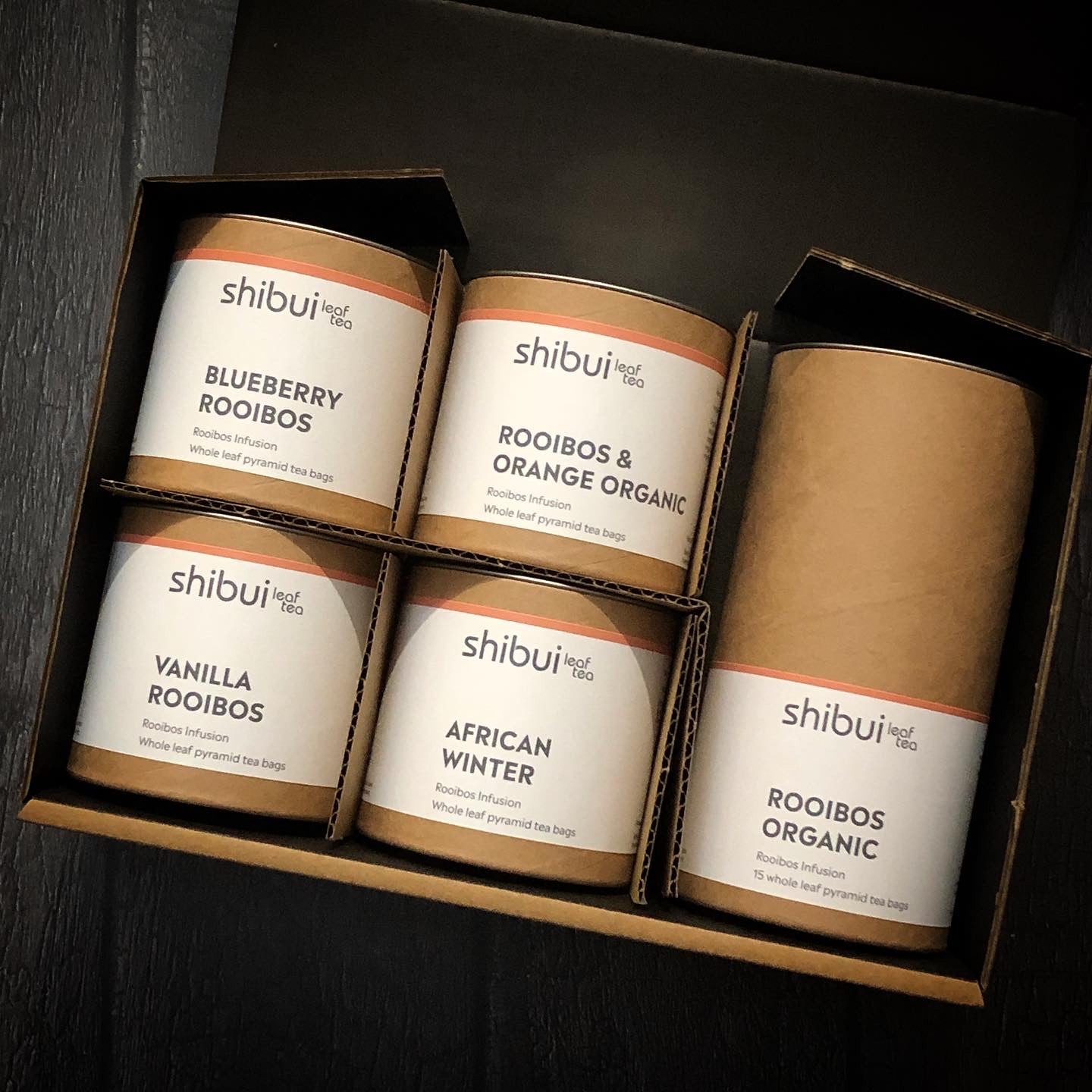 The Rooibos Pyramid Collection