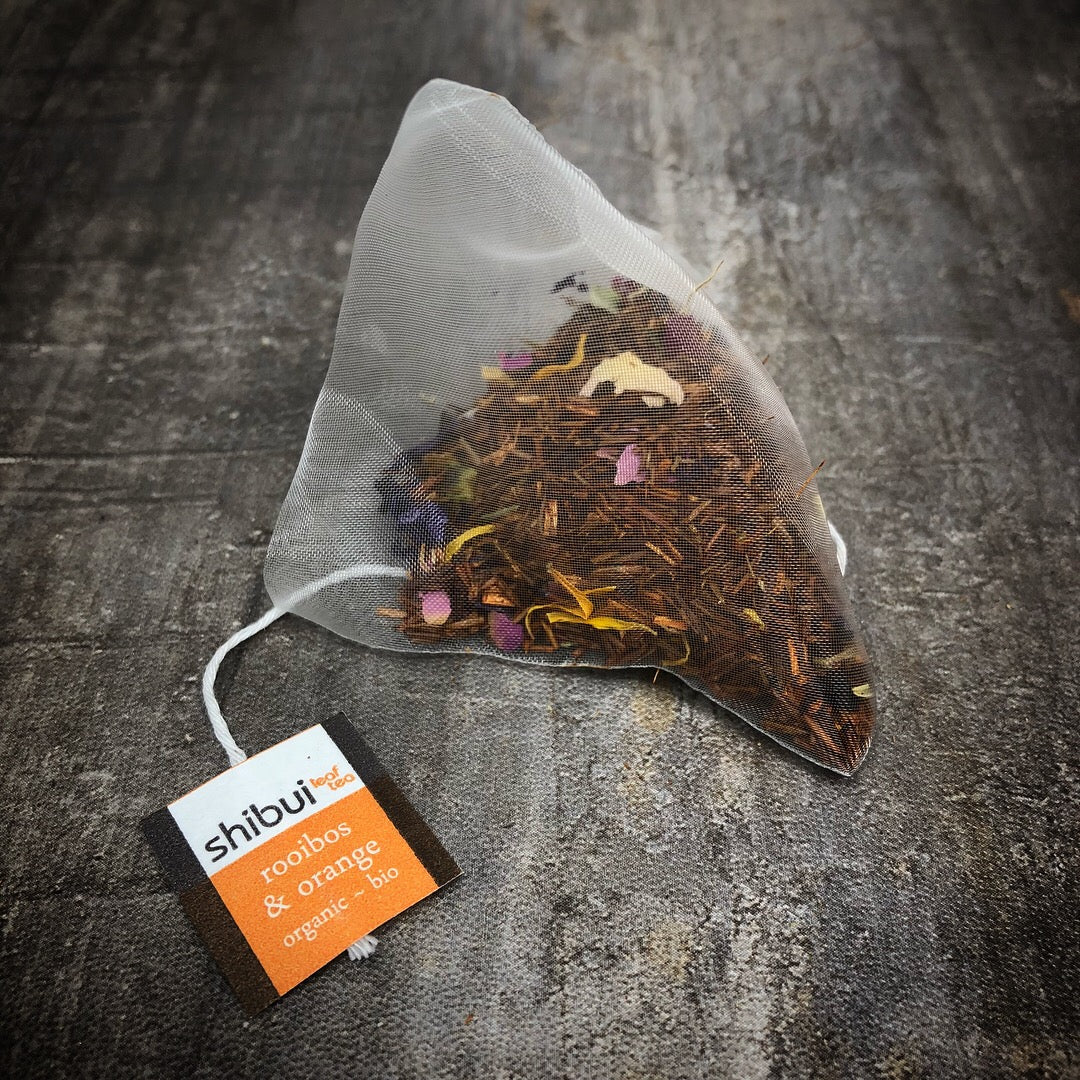 Rooibos and Orange Organic Plastic Free Tea Bags