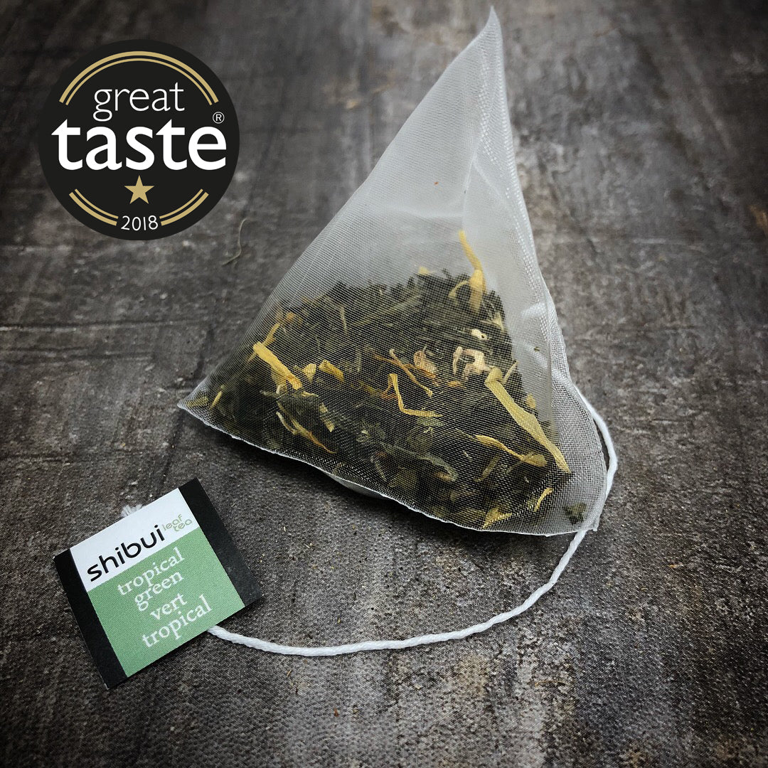 Plastic Free Tropical Green Tea bags