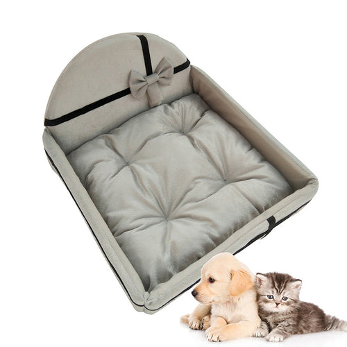 Bow Detail Pet Lounger
