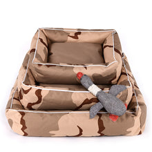 Load image into Gallery viewer, Camo Print Pet Lounger