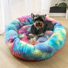 Load image into Gallery viewer, Tie Dye Plush Pet Lounger