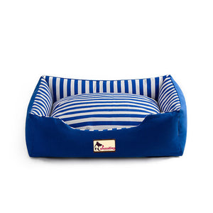 Striped Pet Beds for Dogs Cats Kennels Sofa Big Dog Bed House Cotton Pets Kennels Beds Large Small Dog Chihuahua Warm Winter