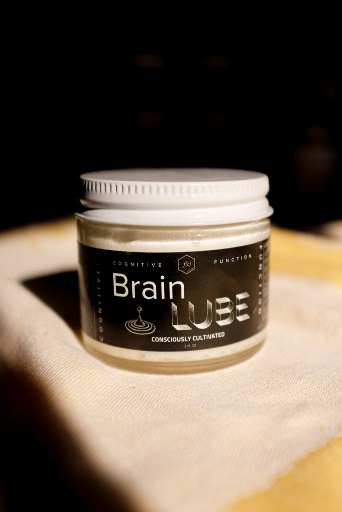 Lion's Mane Brain Lube Cognitive Function