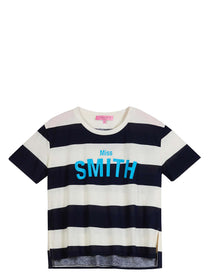 Miss Smith striped t-shirt