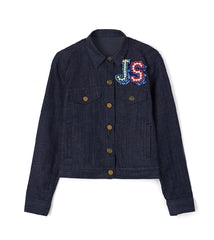 MR SMITH INDIGO JACKET
