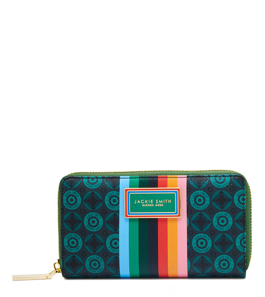 Billetera Monogram Rainbow